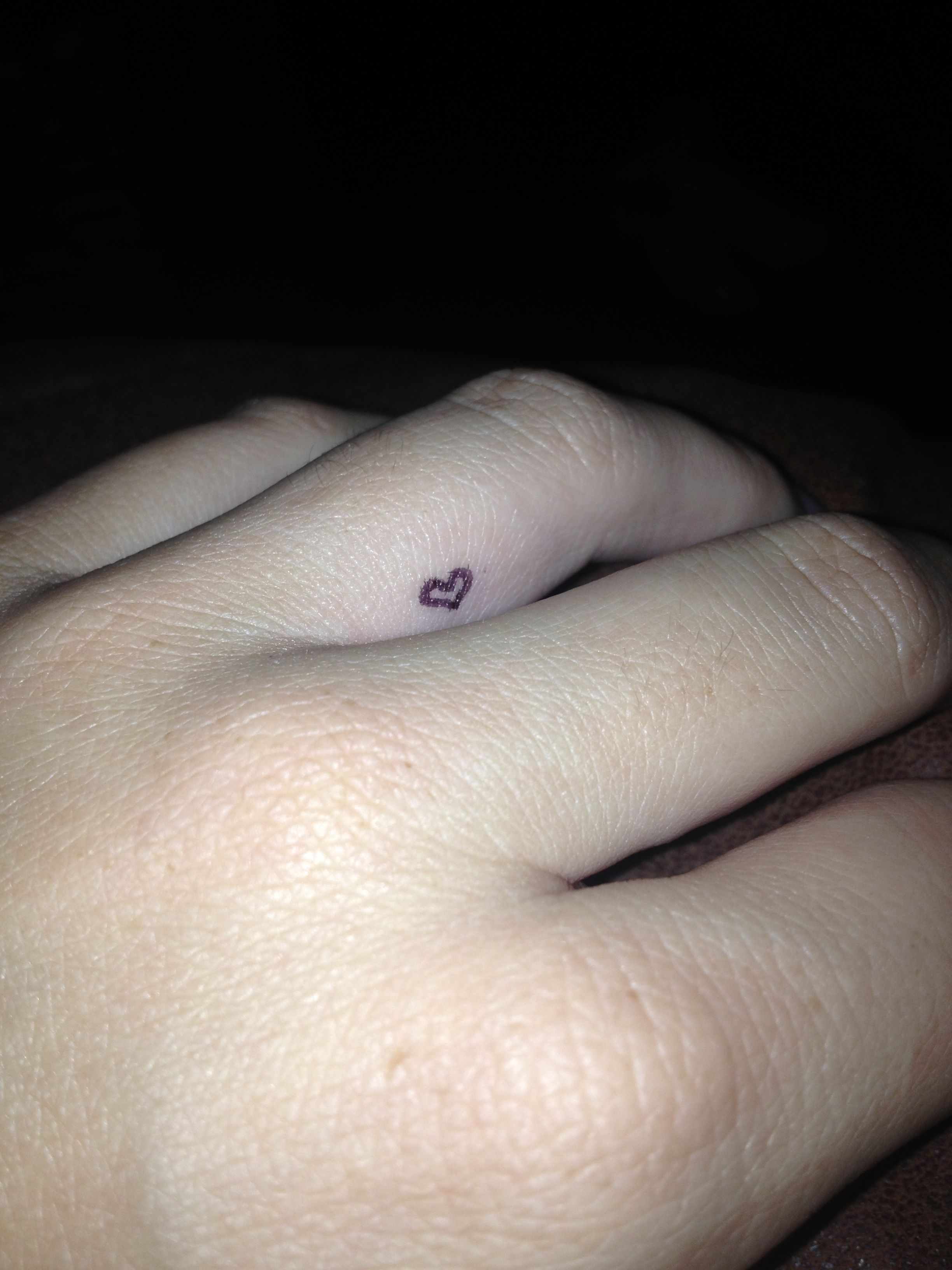 awesome heart idea tattoos tattoo rings frankie wedding inspirational tattooed bands of finger