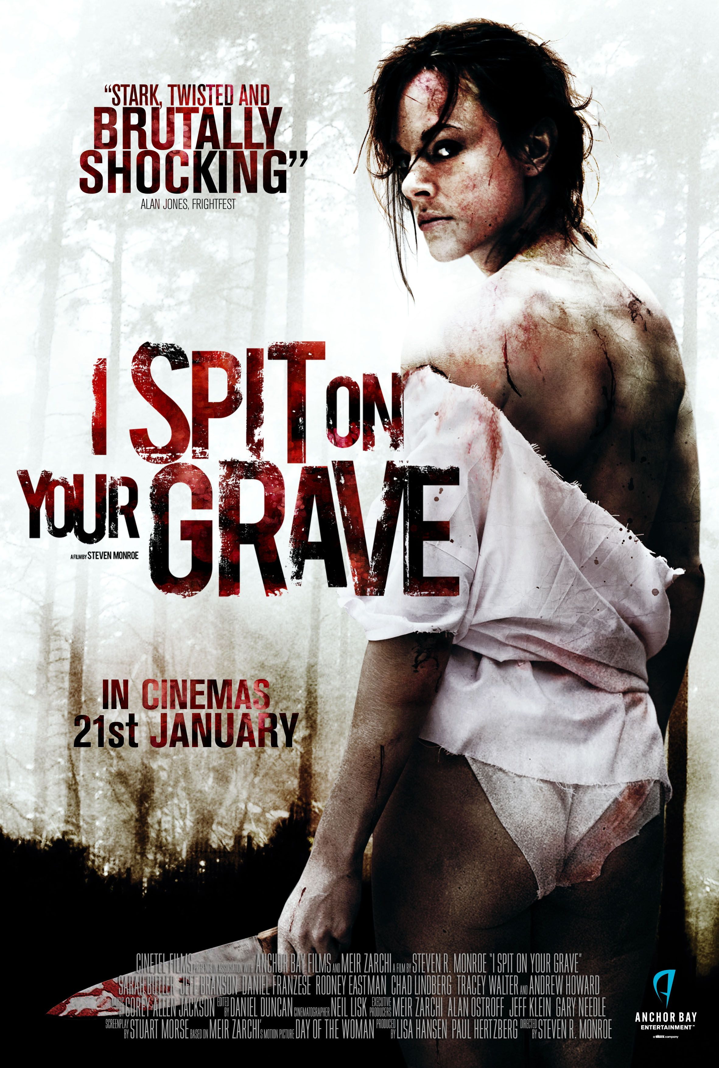 i spit on your grave poster cerca con google horror