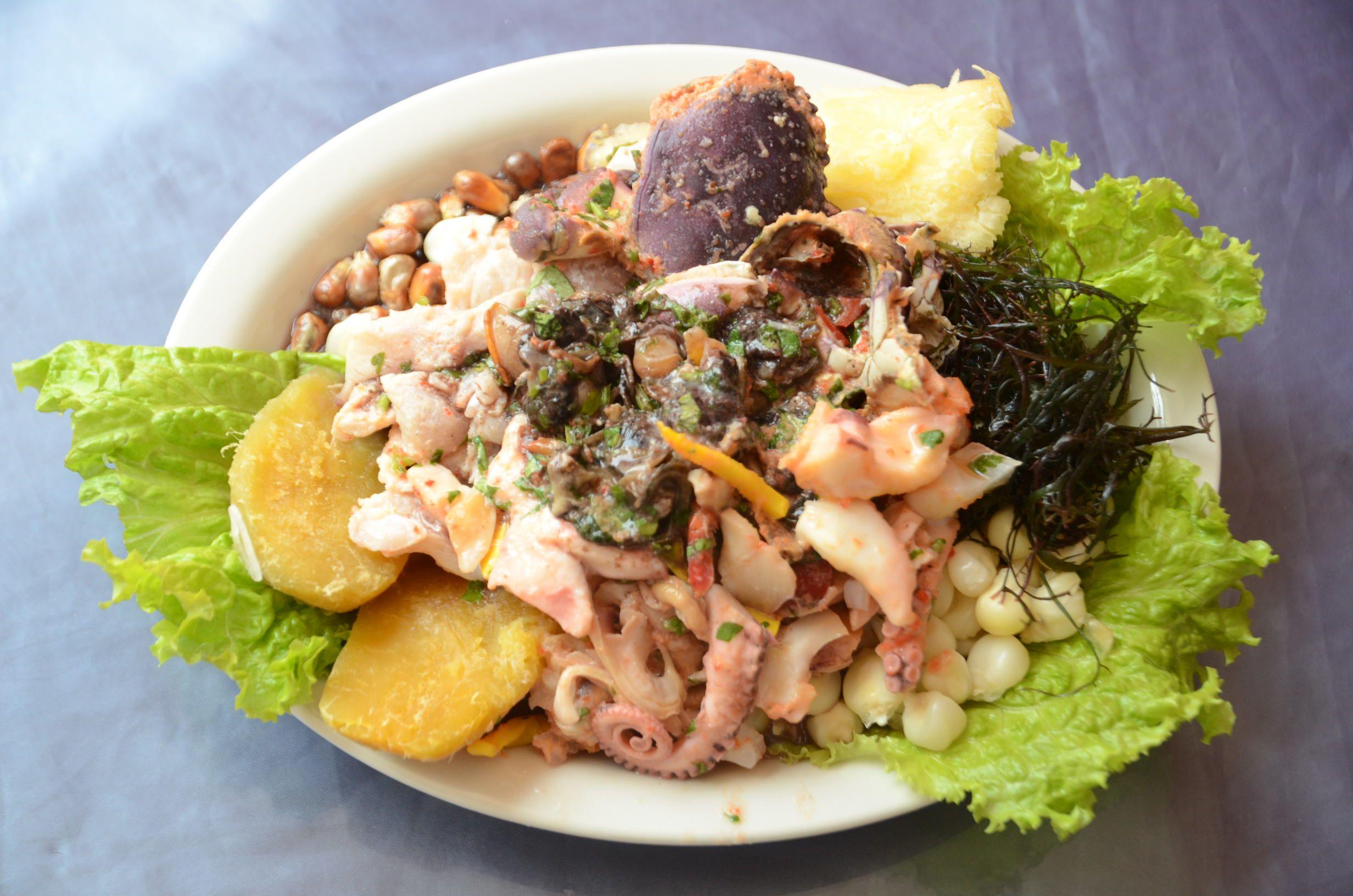 Ceviche aphrodisiaque à Trujillo  #ceviche  #fruitsdemer  #aphrodisiaque  #trujillo  #Perou  #globetaster