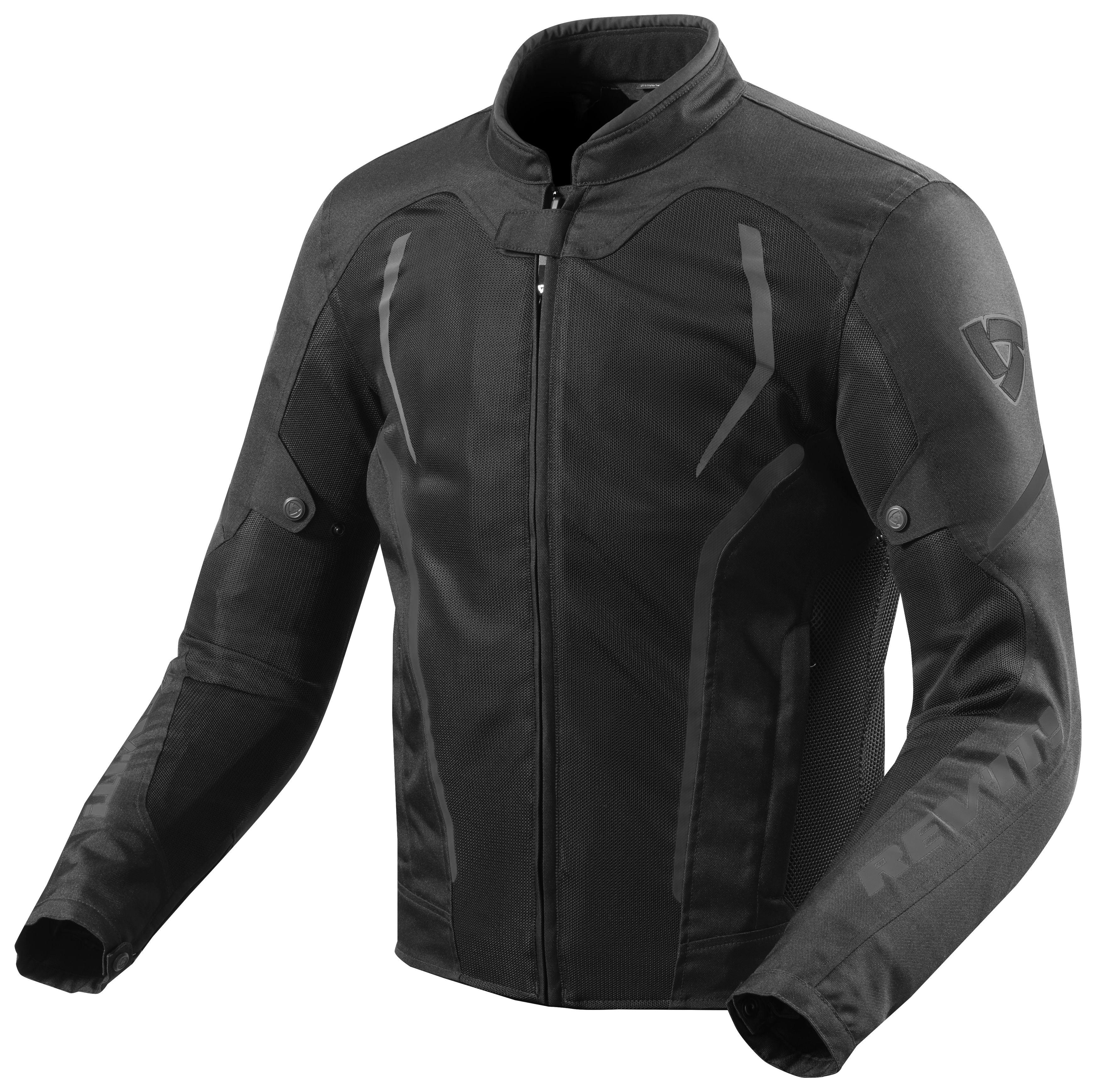 Talla S Color Negro Alpinestars Chaqueta veraniega para Moto Luc Air