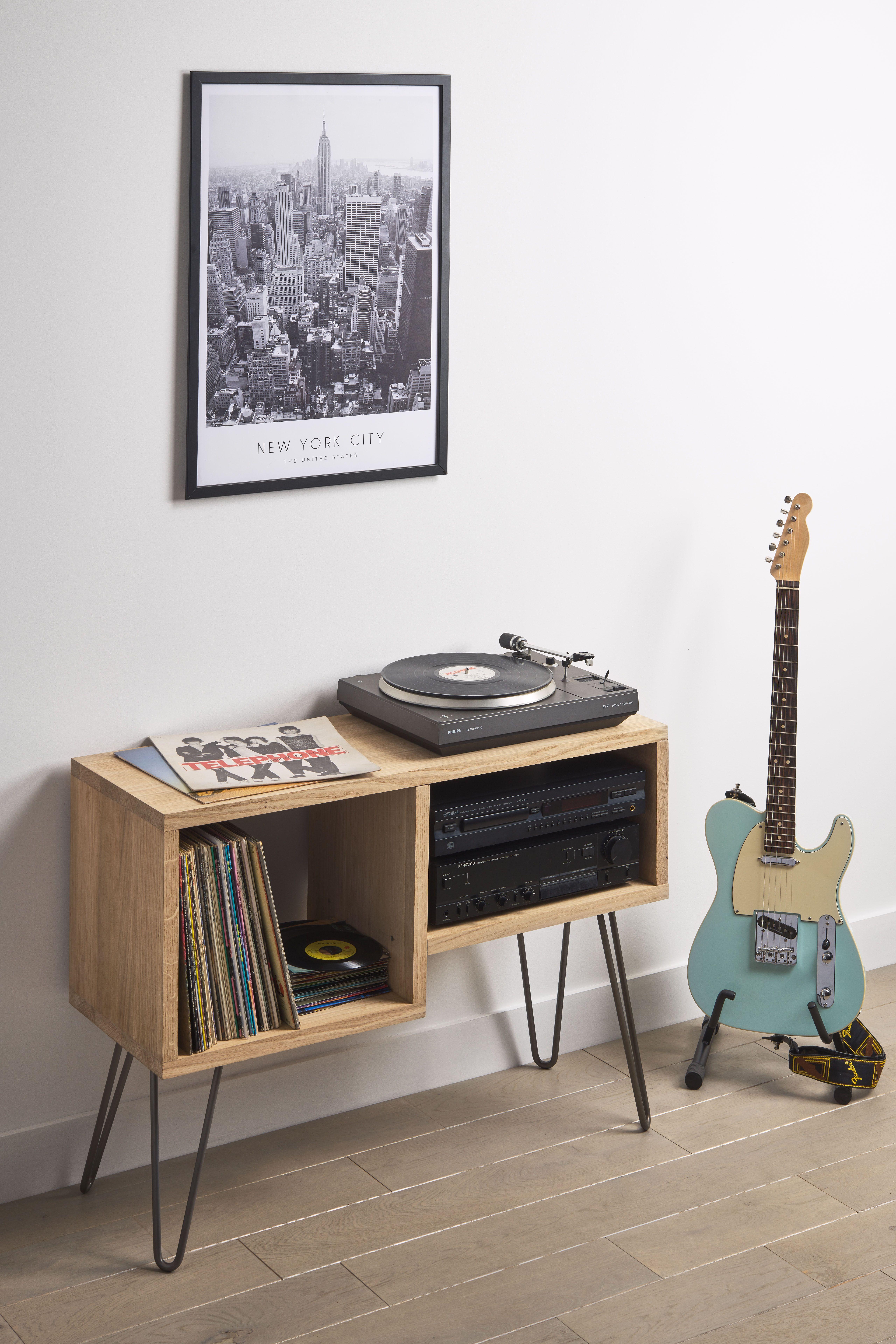 Diy Meuble Hi Fi En Bois Meuble Hifi Meuble Vinyle Mobilier De Salon