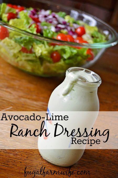 Avocado Lime Ranch Dressing Recept Eten En Drinken Gezond Diner Eten
