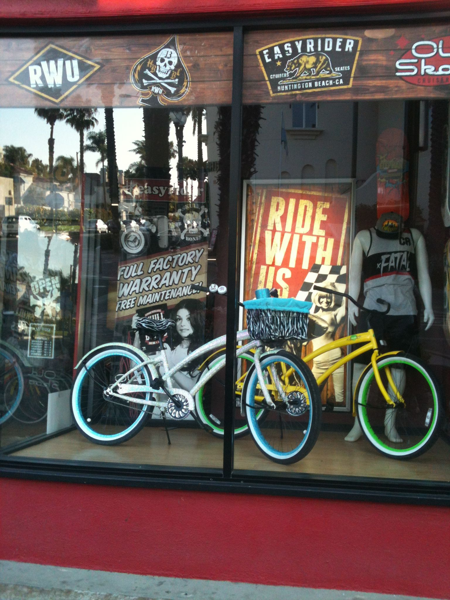 Awesome bike store downtown huntington beach bike store