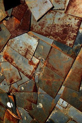 Rusty Metal Sheets Texture