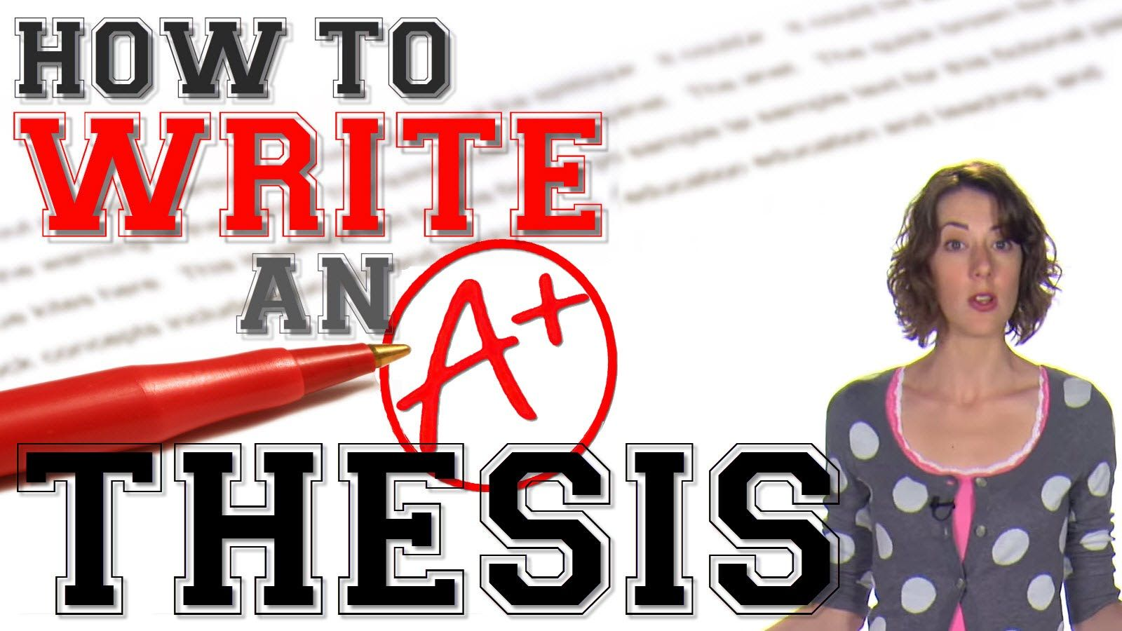 how to construct a thesis statement How to write a thesis statement almost all of us—even if we don't do it consciously— look early in an essay for a one- or two-sentence condensation of the argument or analysis that is to follow we refer to that condensation as a thesis statement why should your essay contain a thesis.