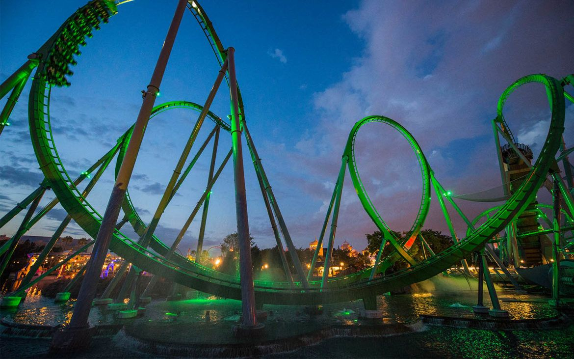 Incredible Hulk Coaster Universal's Islands of Adventure at the Universal Orlando Resort