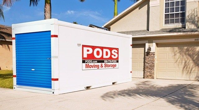 Pods moving containers