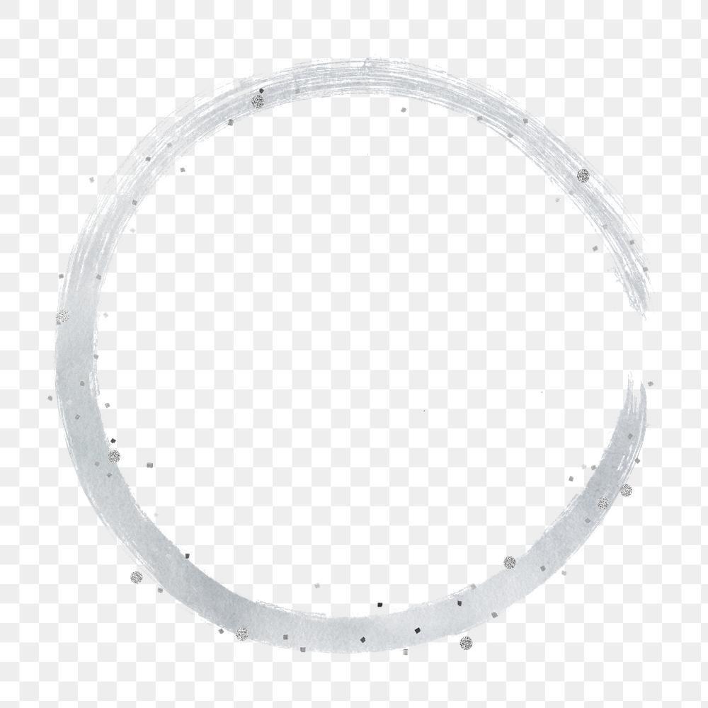 Round Gray Brush Stroke Design Element Free Image By Rawpixel Com Marinemynt Design Element Brush Stroke Png Facebook Frame