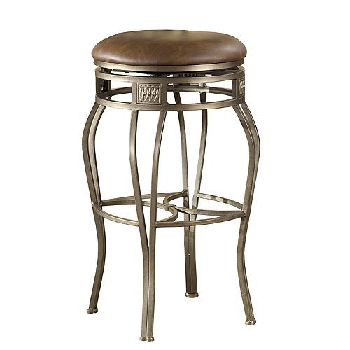 Montello Old Steel 30 Inch Bar Stool With Images Backless Bar