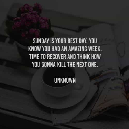 62 Sunday quotes that'll help you start the week refreshed