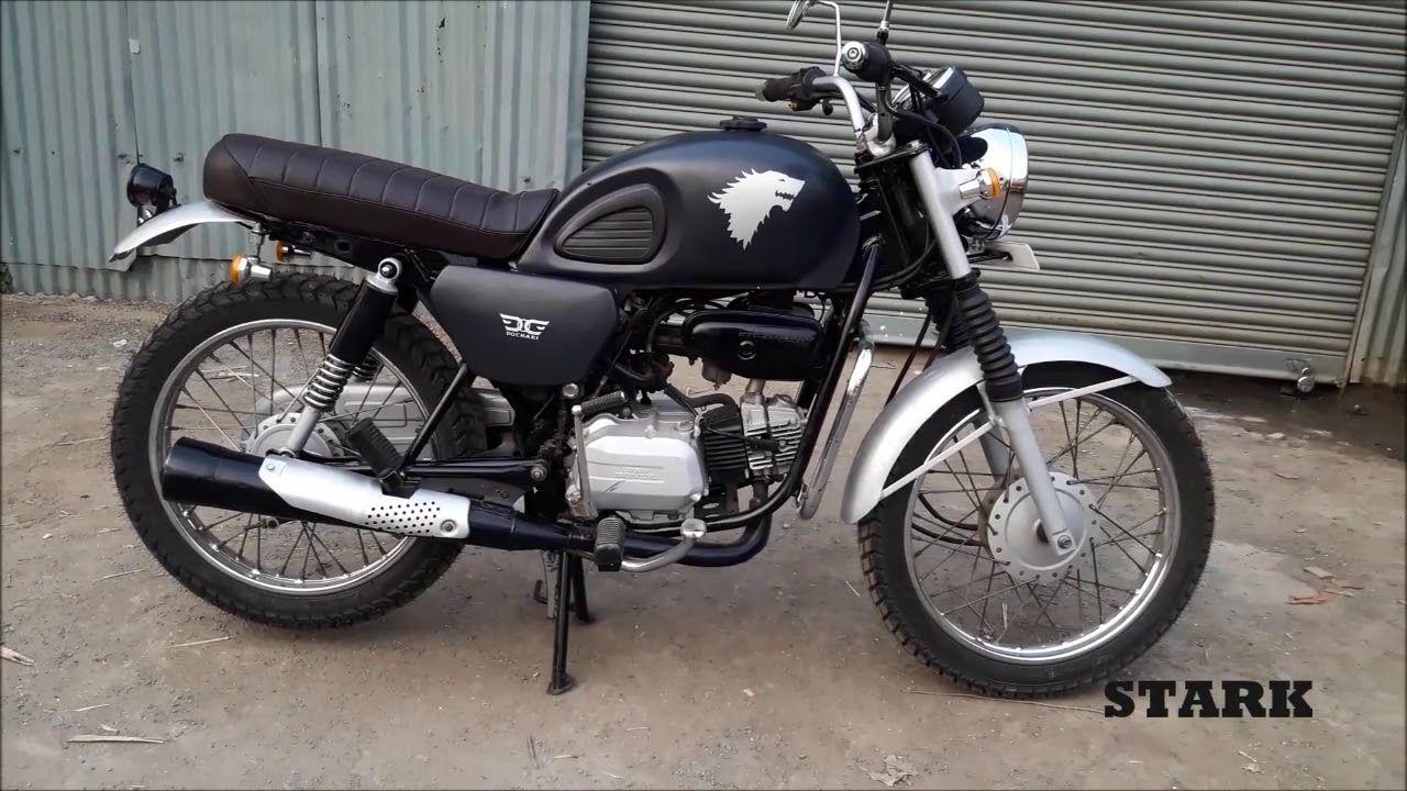 Hero Honda Splendor Scrambler Stark From Dochaki Custom