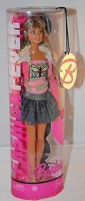 2006 Barbie Fashion Fever Teresa Butterfly Tattoo Doll in Tube J1386 | eBay