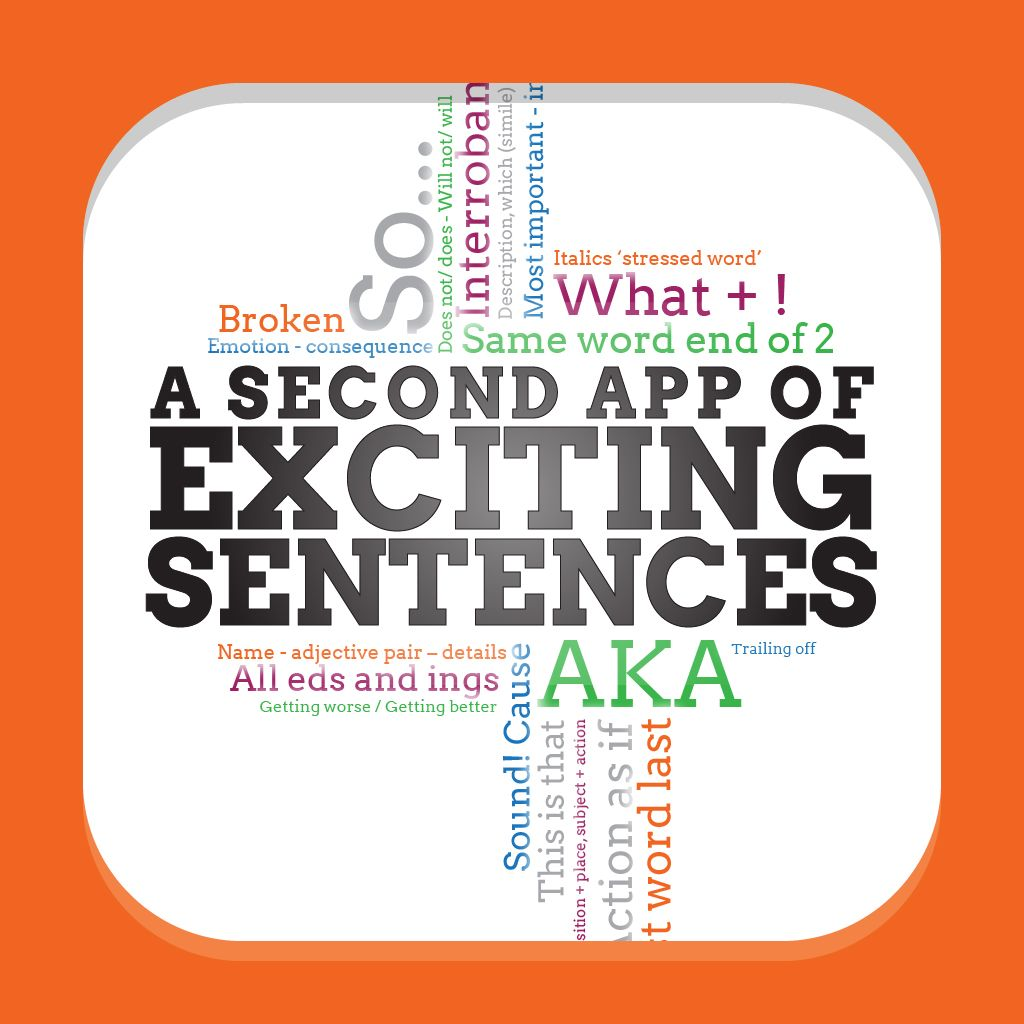 A Second App Of Exciting Sentences By Alan Peat