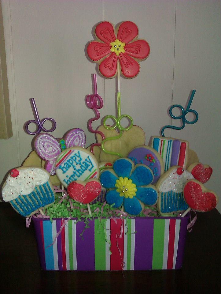 Birthday cookie bouquet birthday cookie bouquet