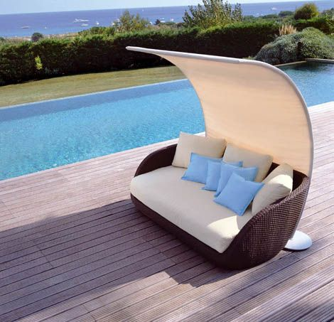 Outdoor Rattan modern outdoor rattan furniture from roberti for your patio