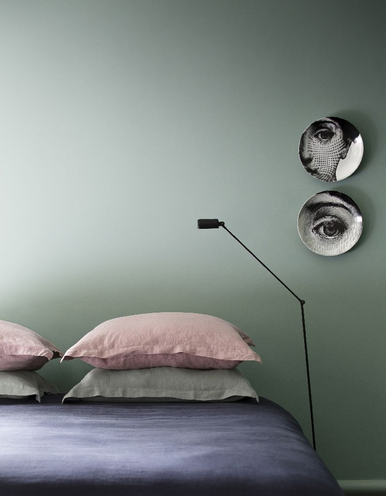 Chambre vert amande | interior | Pinterest | Bedrooms, Interiors and ...