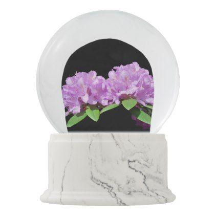 Rhododendron Snow Globe Nature Diy Customize Sprecial Design