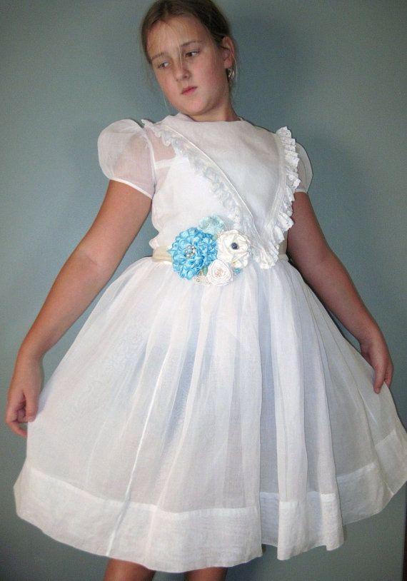 1950 Vintage Flower Girl Dresses