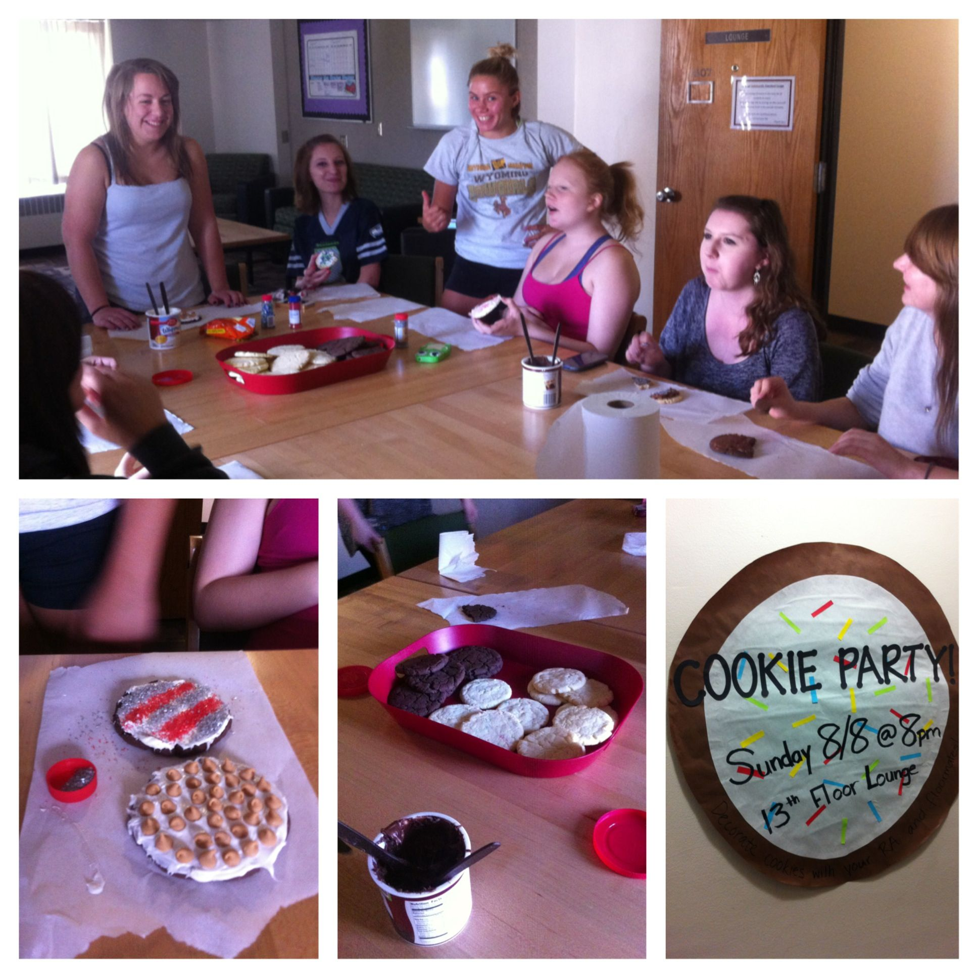 Decorating Programs cookie decorating party! first program with my residents. was