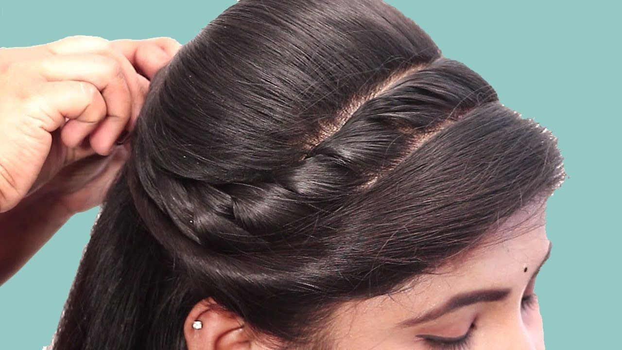 Easy And Quick Braided Hairstyle For College Girl Everyday Hairstyles For Girls 2019 You In 2020 Braided Hairstyles Braids For Short Hair Quick Braided Hairstyles