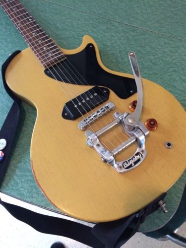 Gibson Les Paul Junior Melody Maker P 90 Tv Yellow Bigsby B5