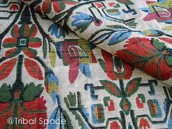 1 Metre Length Aztec Stripe Print Cotton Poplin 100/% cotton Fabric