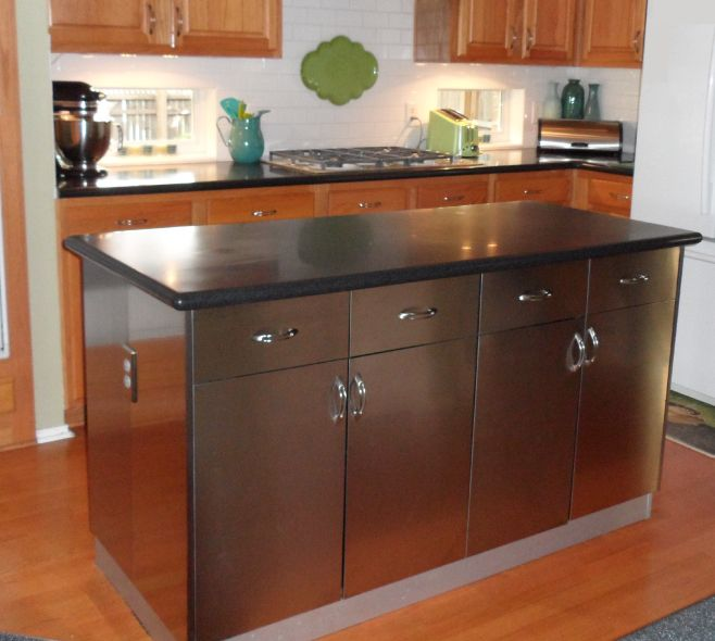 metal kitchen islands ikea rubrik stainless steel island the kitchen project 4092