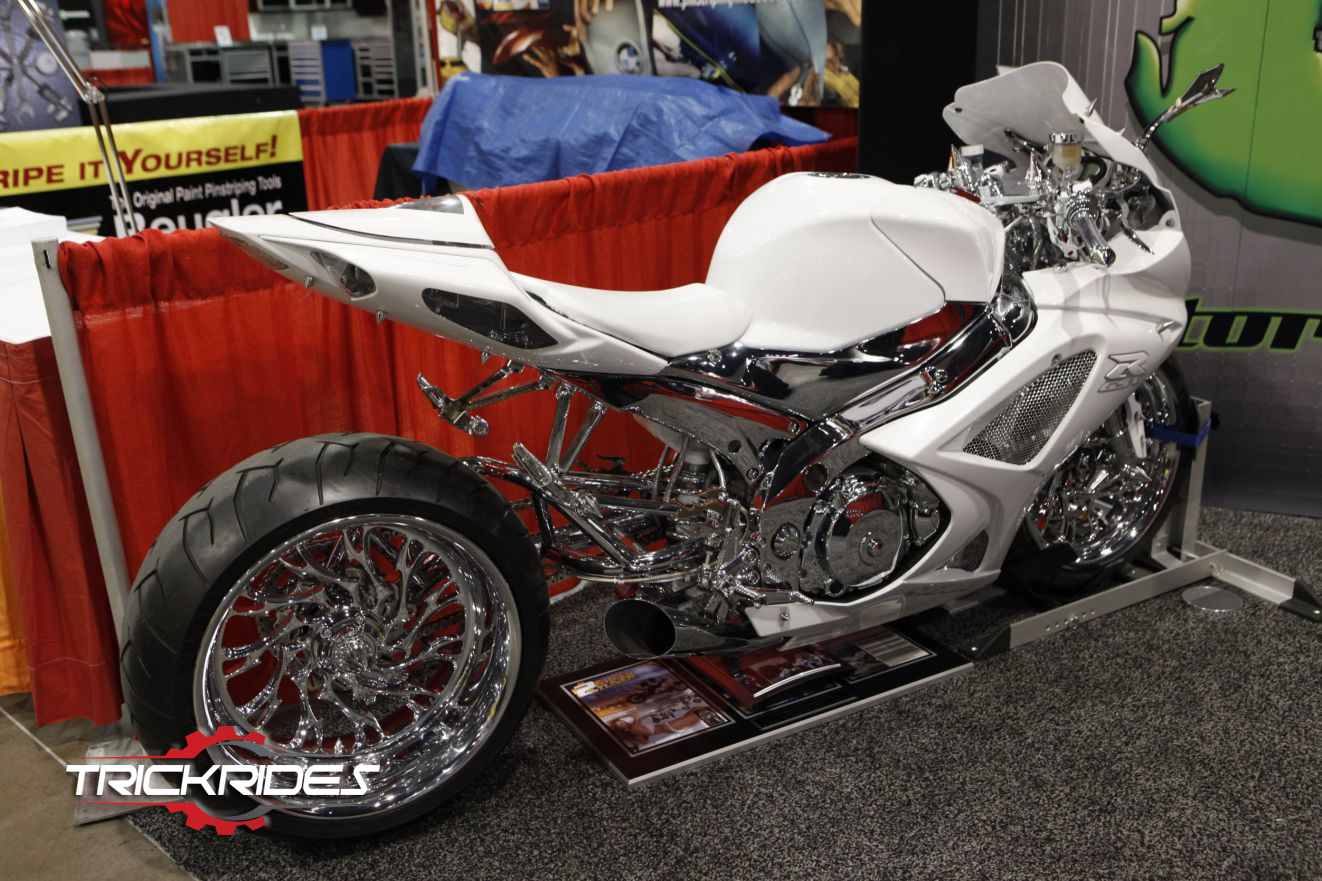 21 Century Auto >> Motorcycle By 21st Century Composites At Sema Trickrides