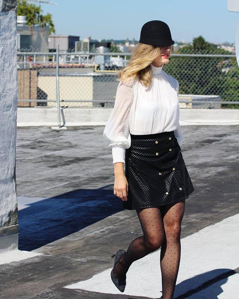 snap skirt. @gergelolya_newyork