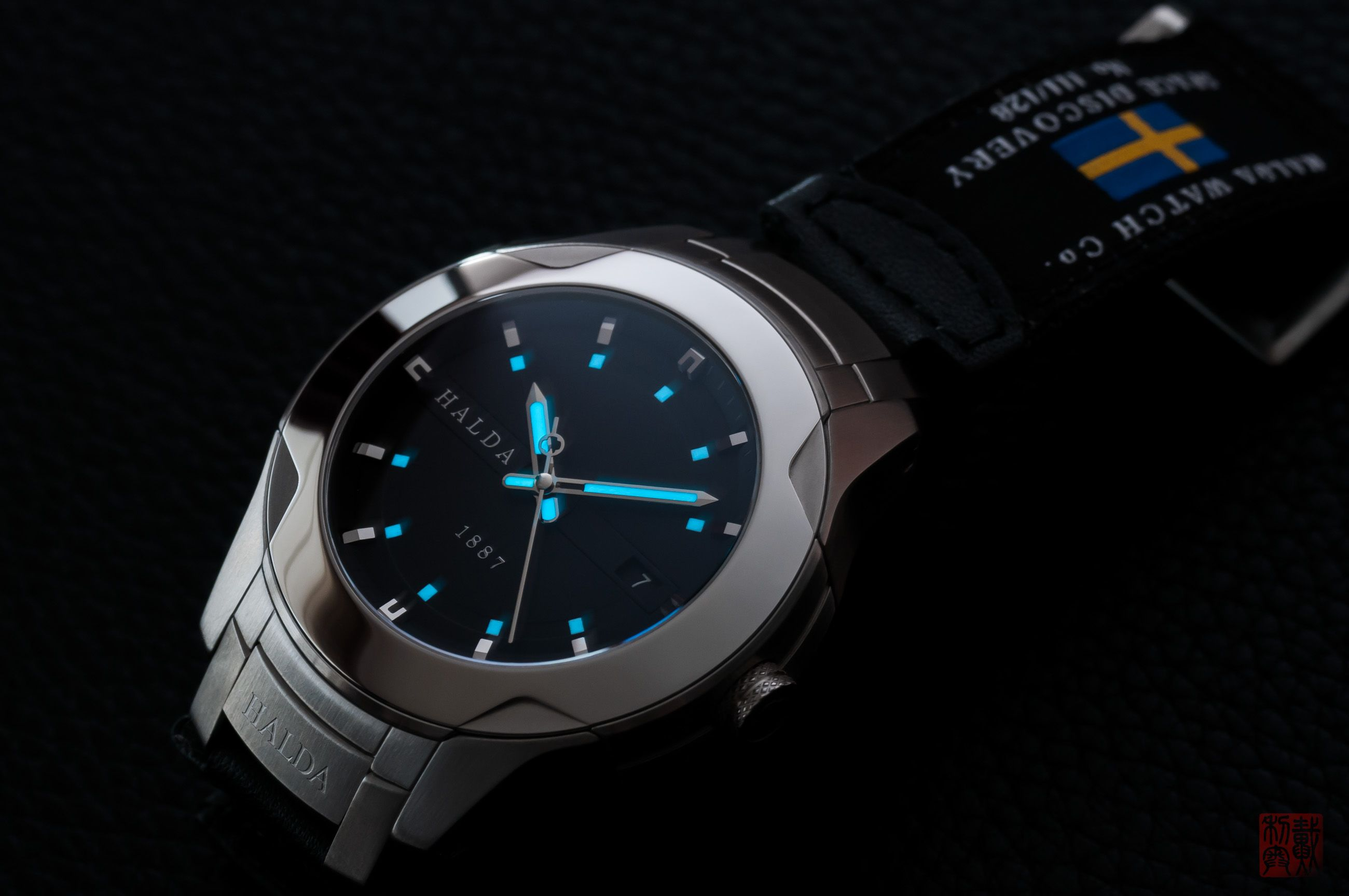 Halda Sweden Space Discovery First Watch Designed For And In Collaboration With Astronauts That Have Been In Space H Watch Anish Watch Design Wrist Watch