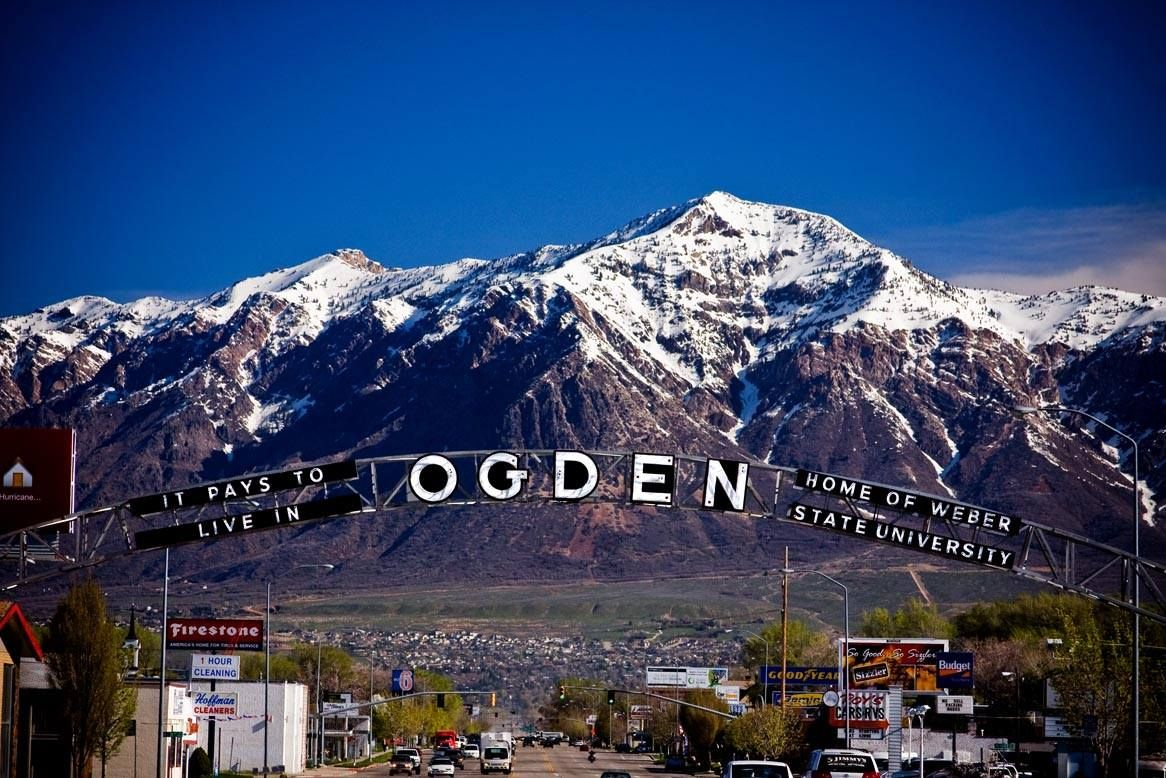 My Hometown Love Ben Lomond Peak In The Background Ogden Utah Best Cities Utah Vacation
