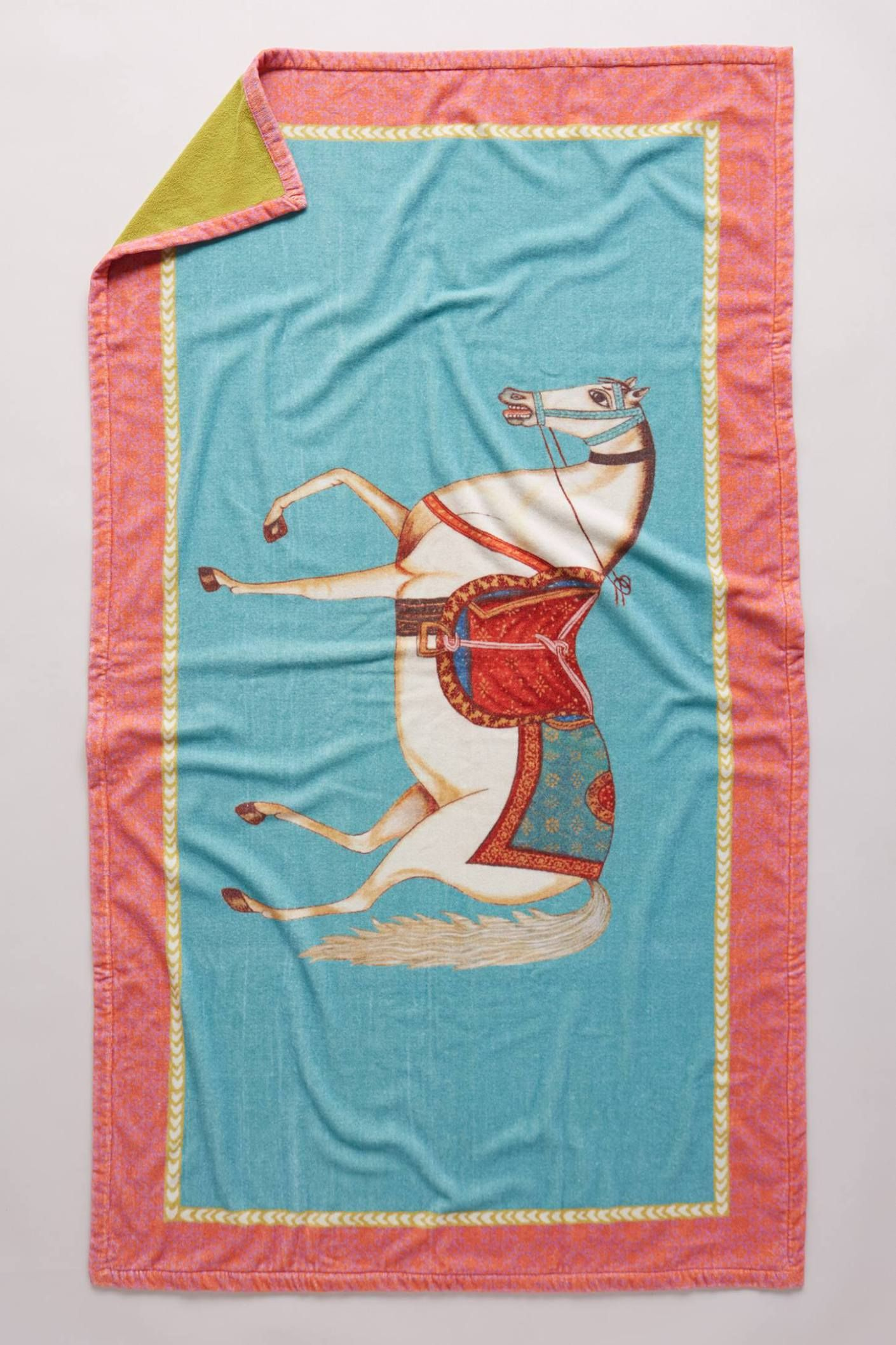 Signature Horse Beach Towel by John Robshaw #anthrofave