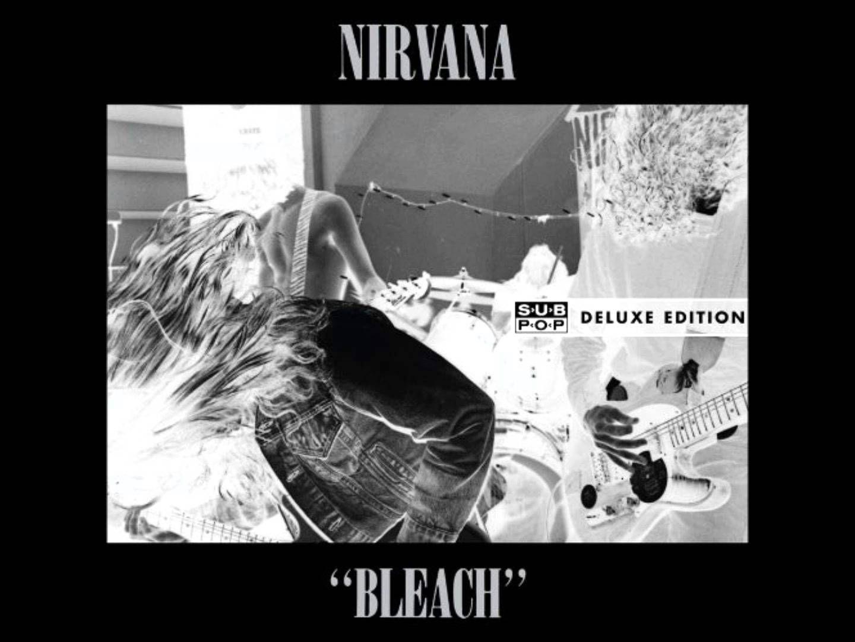 Nirvana Bleach 20th Anniversary Delux Edition Full Album Nirvana Album Album Covers Nirvana