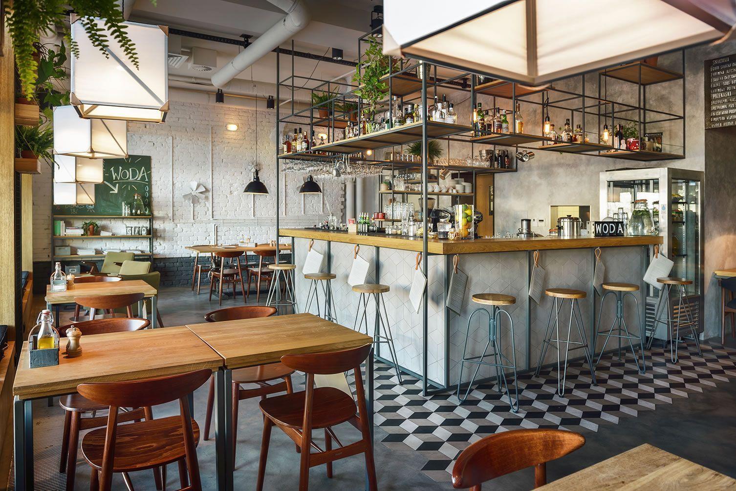 Desain Rumah Cafe Sederhana Desain Interior Restaurant Bar Interior