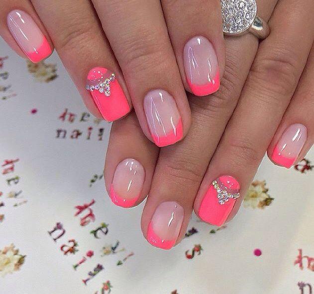 черный дизайн ногтей в розовом золоте с лаком розовое золото (с  изображениями) | Модные ногти, Ногти, Гвоздь | 590x631