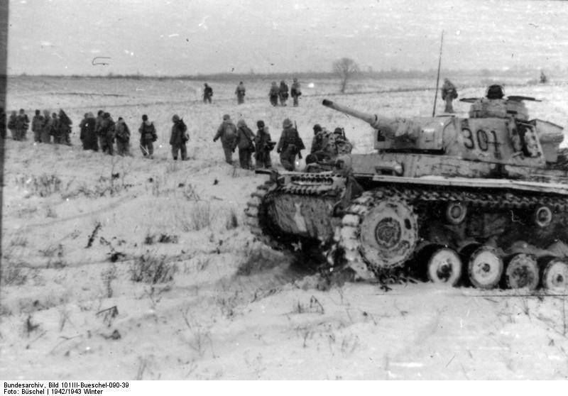 February 20, 1943 Third Battle of Kharkov   The 1st Waffen SS Division is advancing through General Popov's troops. The Soviet general asks permission to retreat,which is denied by the commander of the southwest front Nikolai Vatutin. The Soviet HQ believes that the german counterattack is aimed at the river Dnieper.