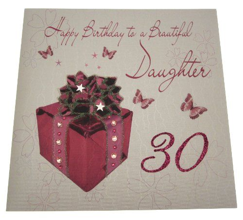 Happy 30th Birthday Daughter