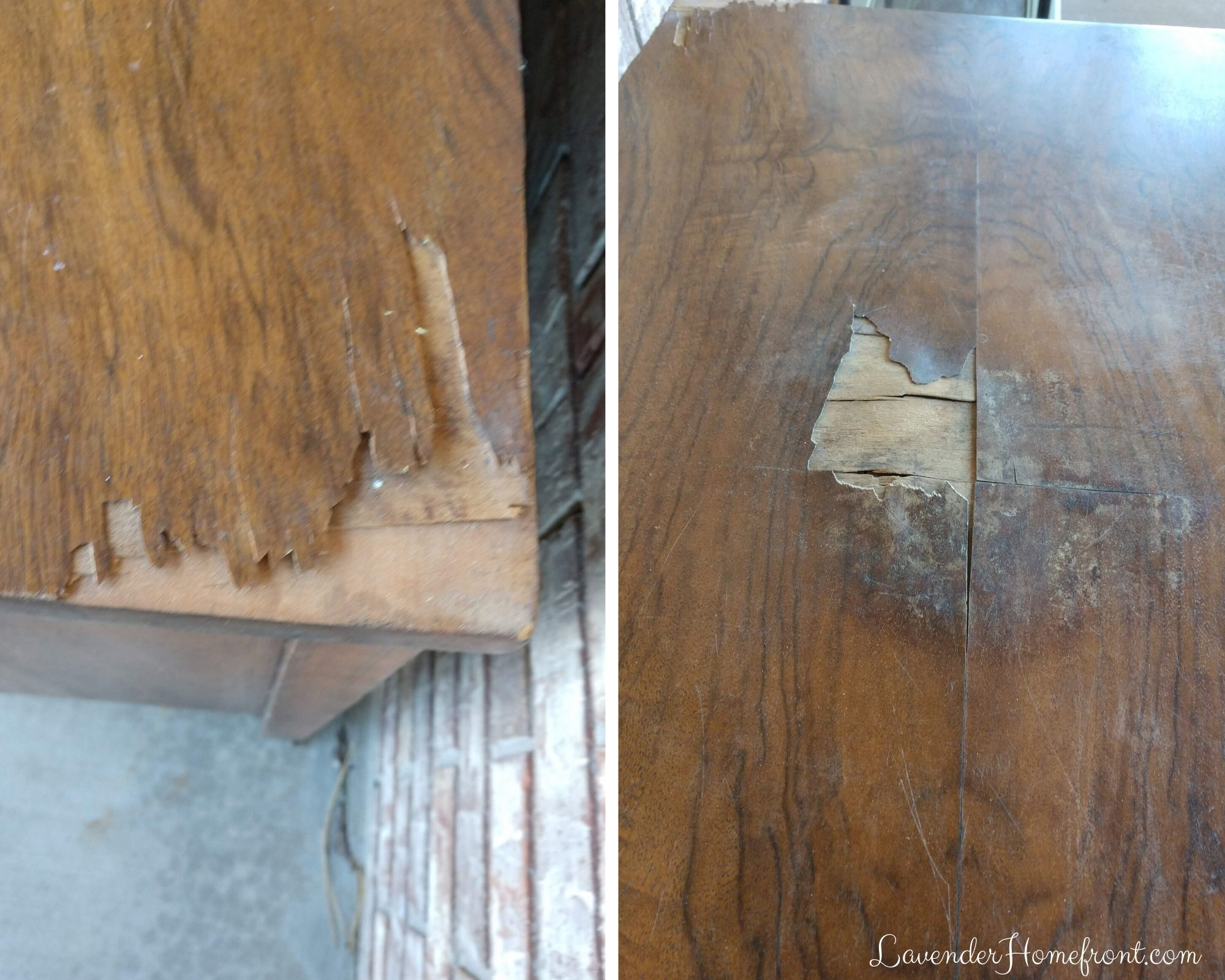 How To Use Wood Filler The Lavender Homefront Wood Filler Staining Wood Wood Putty