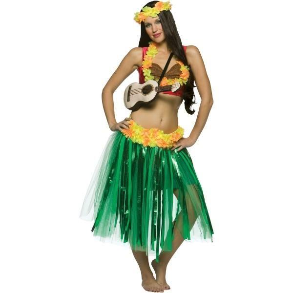 Гавайская вечеринка - костюмы своими руками 38