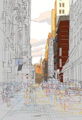 The Chrysler Building-New York_100x70cm-print
