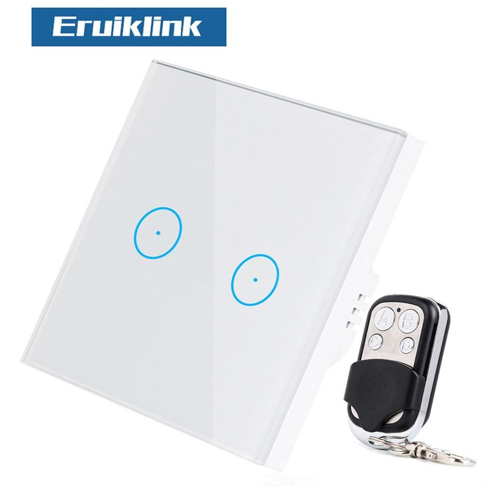 Eruiklink Eu Uk Standard Luxury Wall Touch Sensor Switch Wall