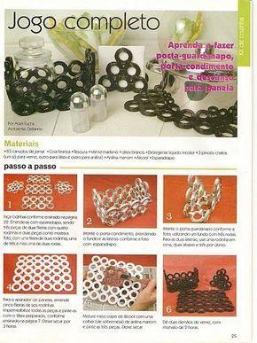 Reciclagem Com Jornal Trabalhos Manuais Reciclagem De Papel