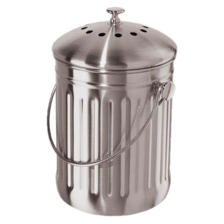 Stainless Steel Countertop Compost Pail Compost Pail