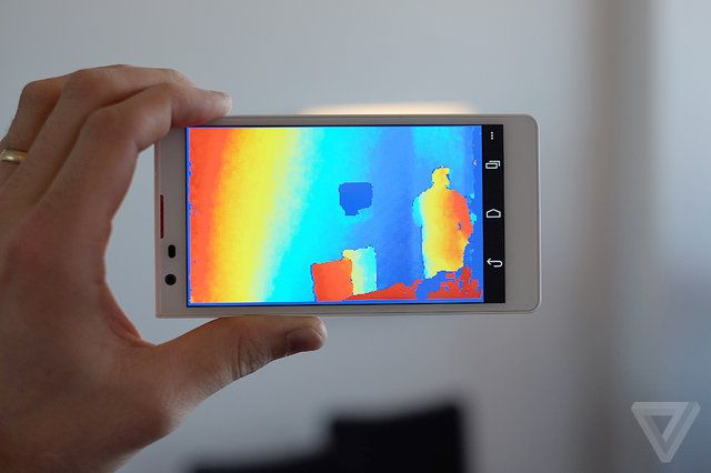 Google reportedly building Project Tango tablets that can see the world around them | The Verge