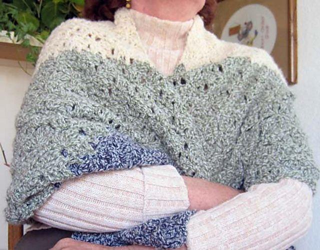 Ravelry: dbkn5's Cozy Comfort Prayer Shawl #shawlcrochetpattern