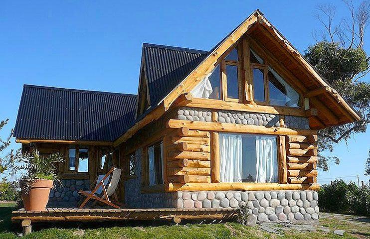 Pin de geo arenas en dise os de casas r sticas casas for Fachadas de cabanas rusticas