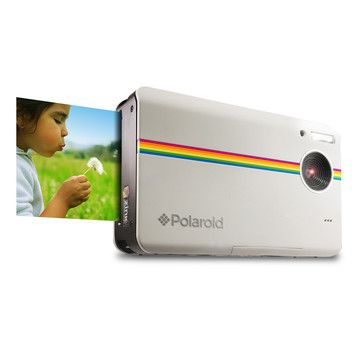 Z2300 Instant Digital Camera by Polaroid | Um awesome!!! In white.