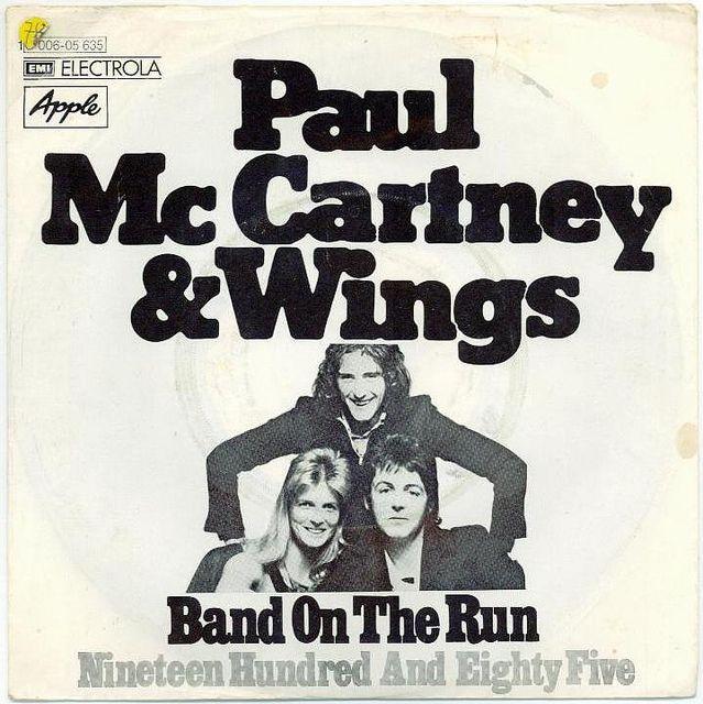 Paul McCartney & Wings - Band on the Run   Paul mccartney, Paul mccartney  and wings, Band on the run