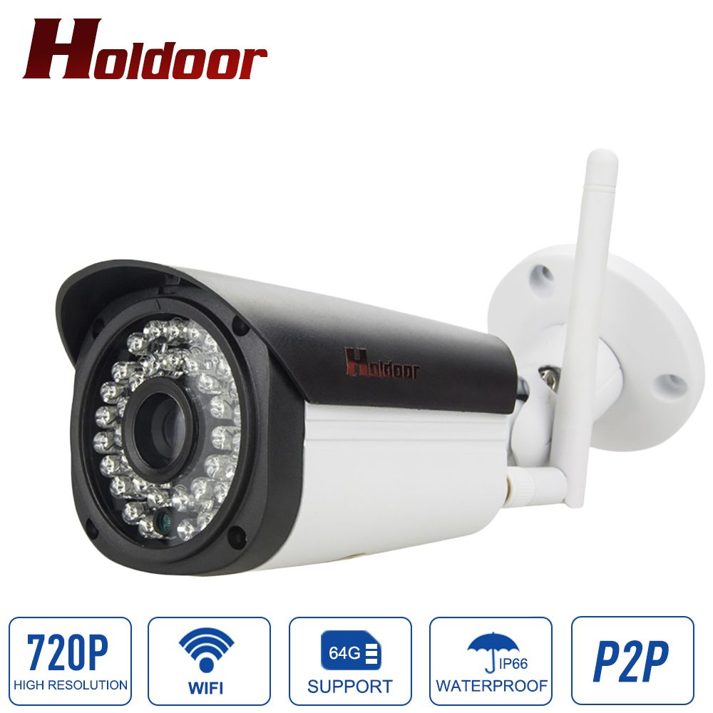 1.0MP 720P Bullet IP Camera Network P2P Onvif Outdoor Security Waterproof Night