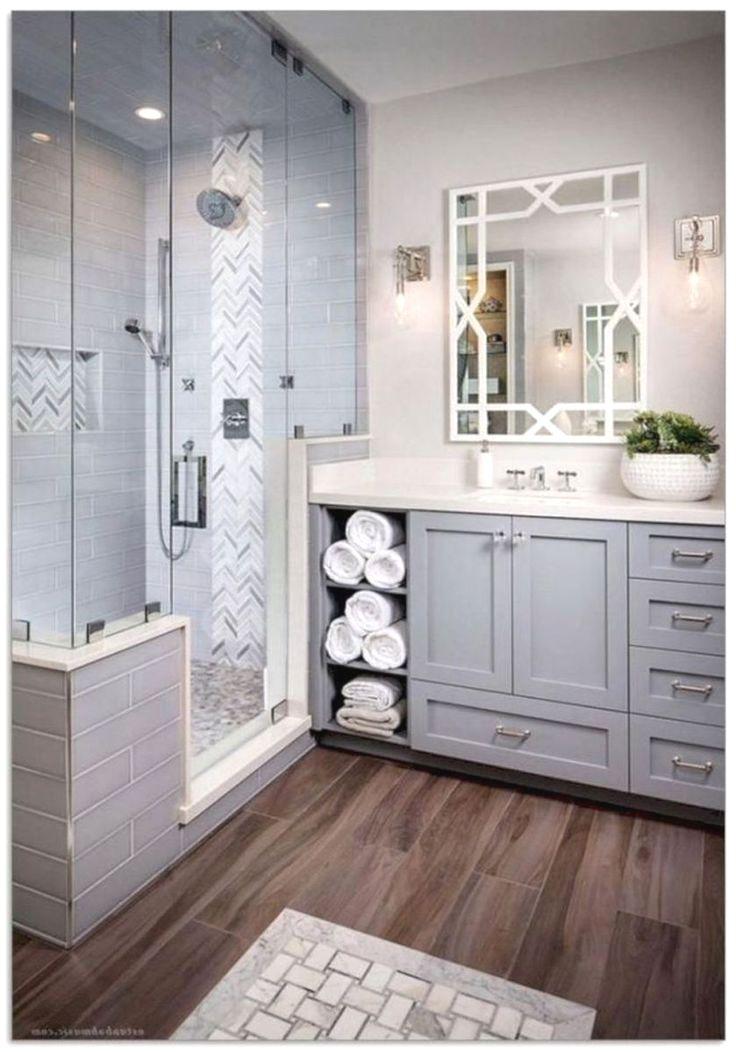 39 Galley Bathroom Layout Ideas To Consider Master Bathroom Renovation Small Master Bathroom Master Bathroom Makeover